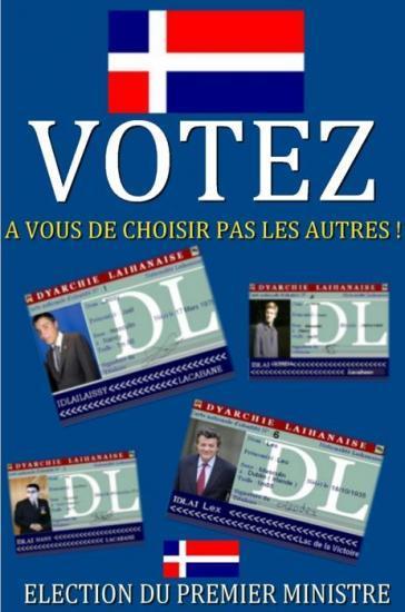 Affiche : Votez